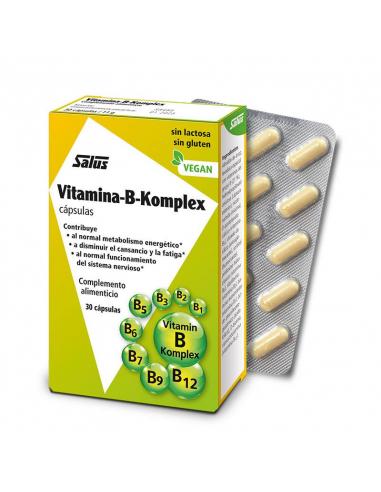 VITAMINA-B-KOMPLEX 30 CAPSULAS