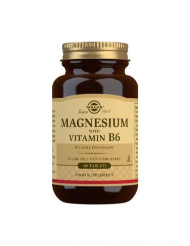 MAGNESIO + VIT B6 (100) COMPRIMIDOS
