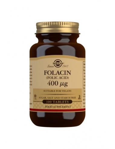 FOLACIN (ACIDO FÓLICO) 400 mcg. (100)...