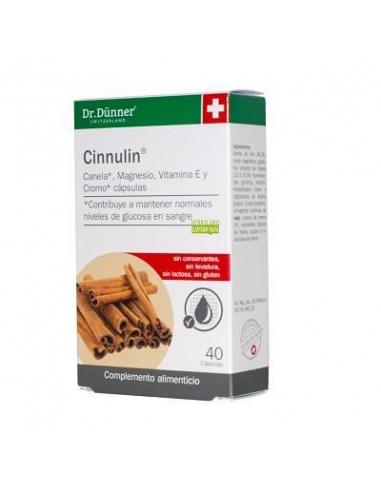 CANELA 40 CAPSULAS CON CINNULIN