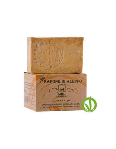 JABON ALEPPO 16 % ACEITE LAUREL 200 GR